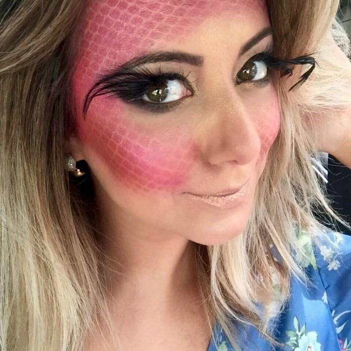 maquiagem para carnaval 2021 de sereia