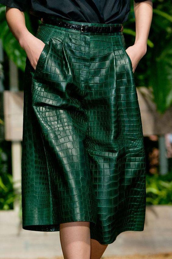 Crocodilo moda