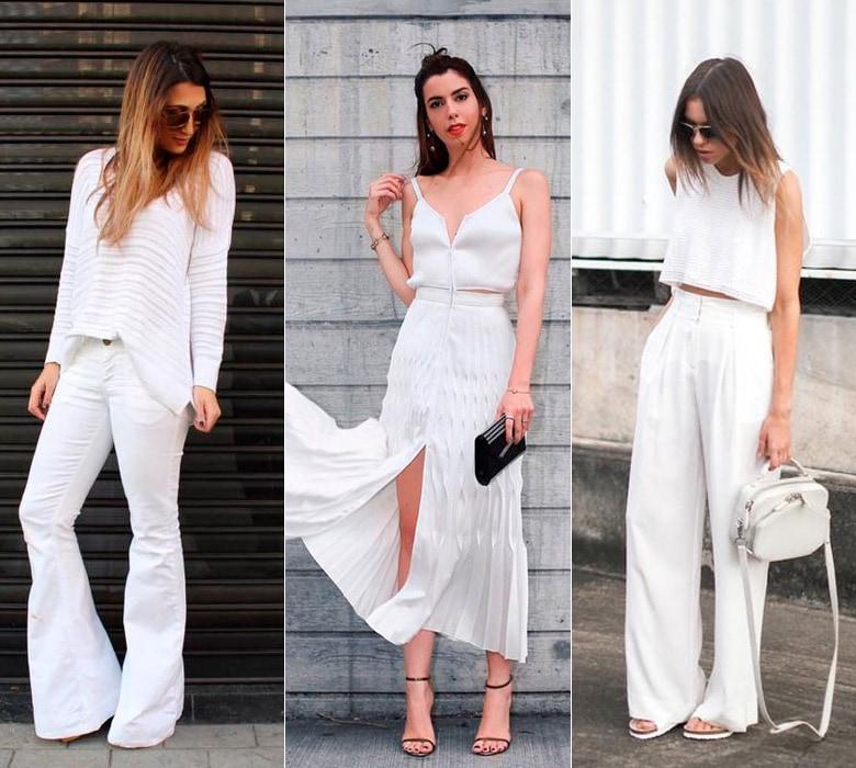 moda primavera verão all white