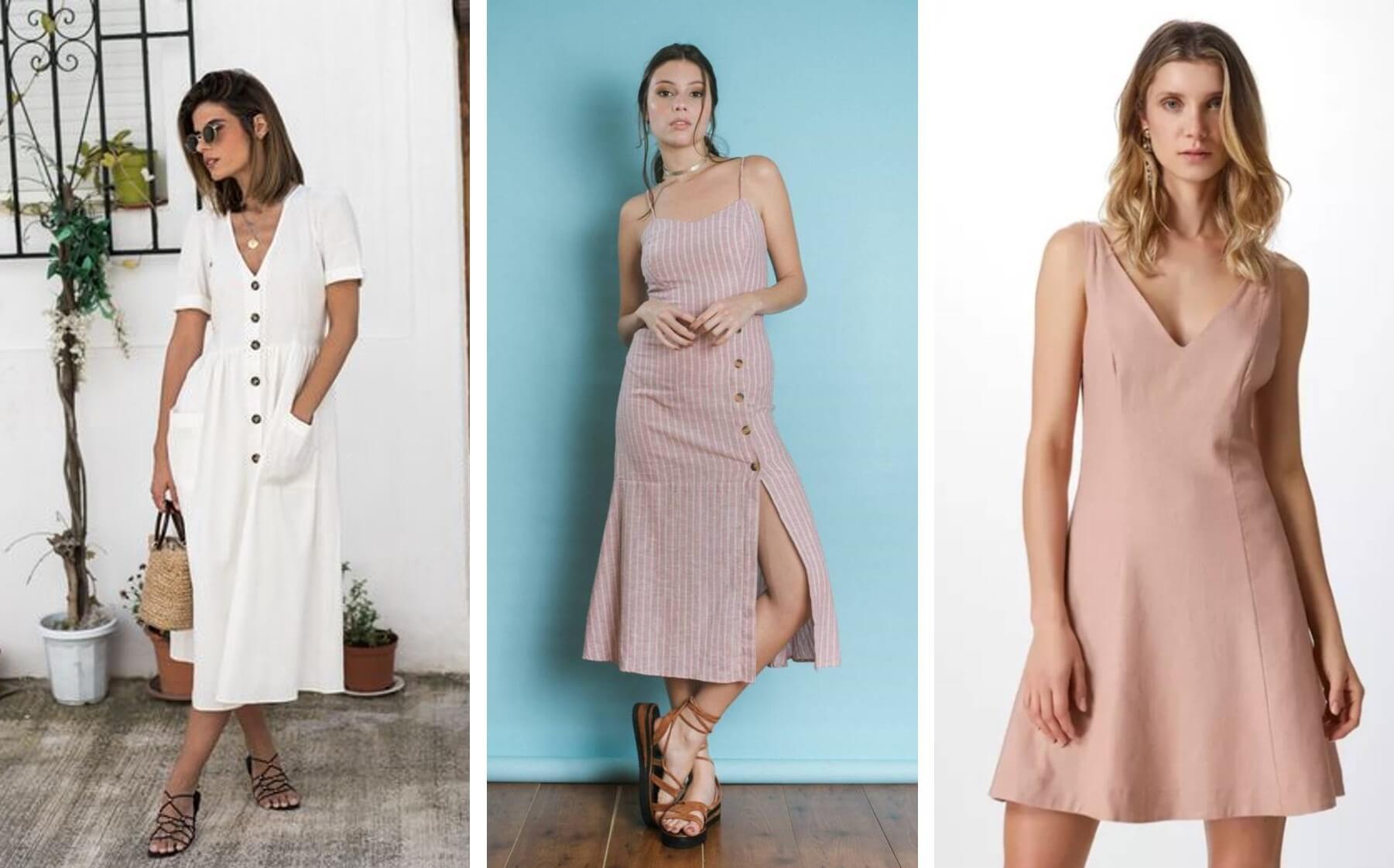 moda primavera verão tecidos naturais