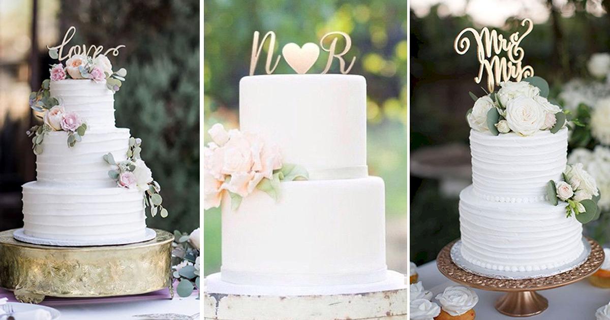 modelos de topo do bolo de casamento com nomes