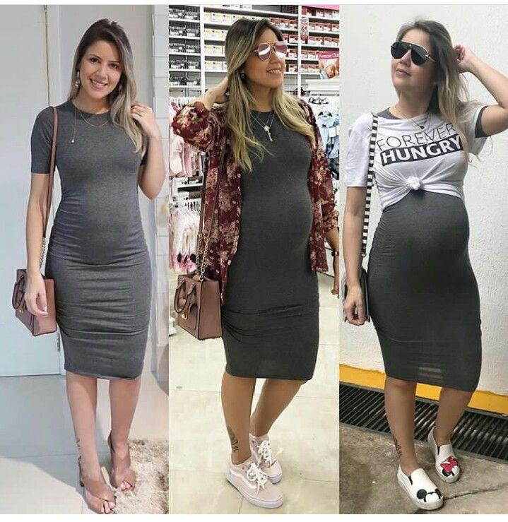 roupas na gravidez 2020