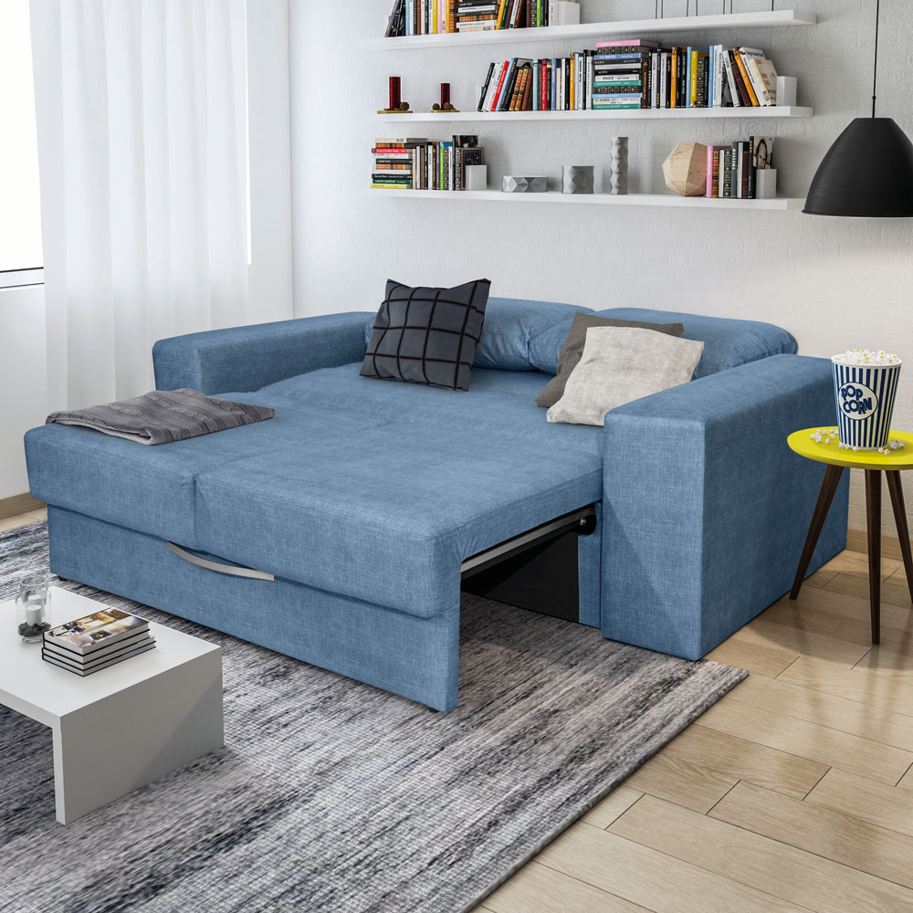 sofá-cama para sala pequena