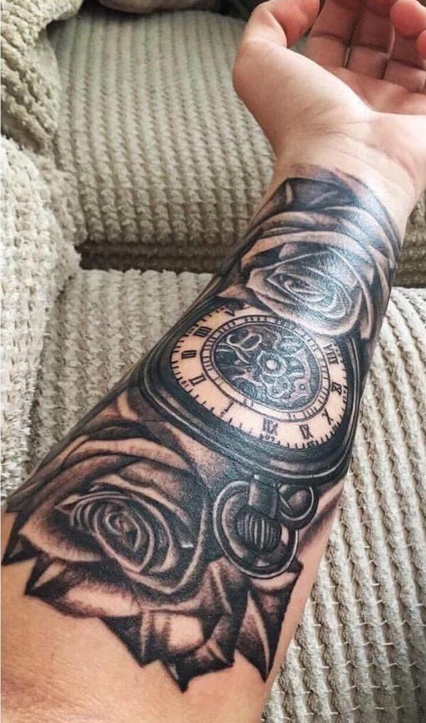 Tendência de tatuagem antebraço masculina 2021