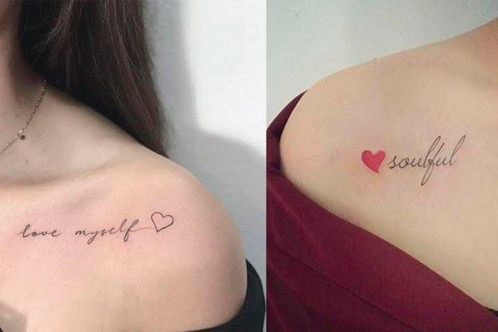tatuagem delicada nos ombros 2021