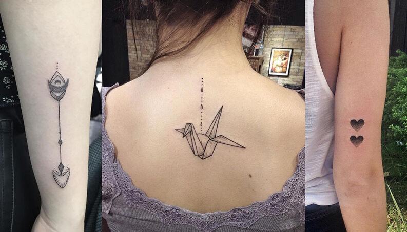 tatuagem feminina delicada 2021