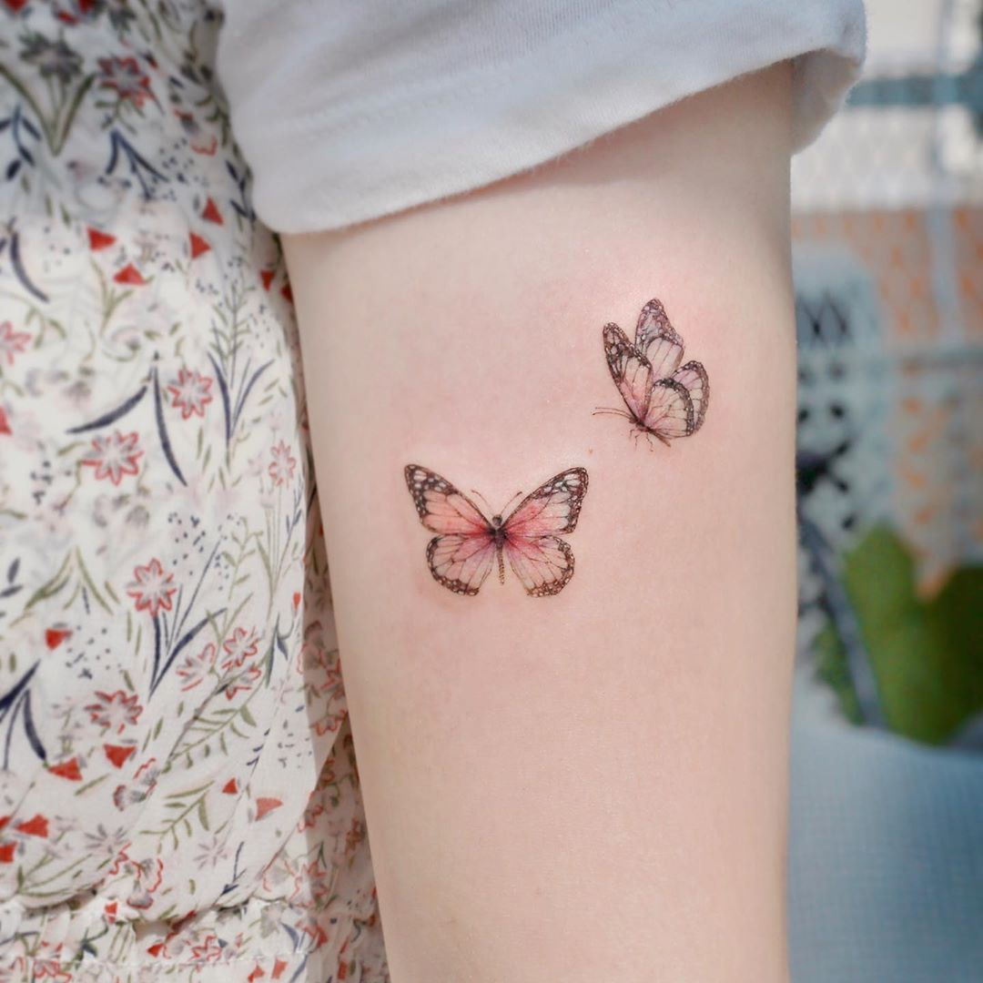tatuagem feminina delicada para braço 2021
