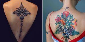 tatuagem feminina nas costas 2021
