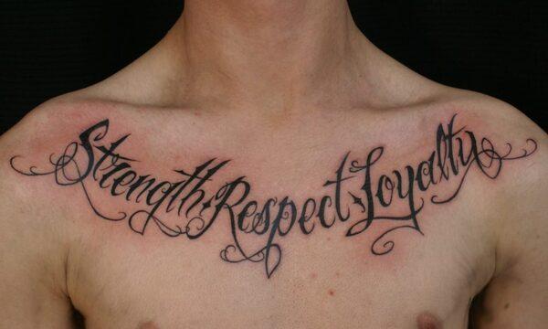 Tatuagens de frases masculinas
