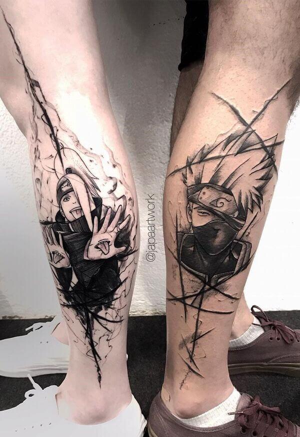 Tatuagens que se complementam