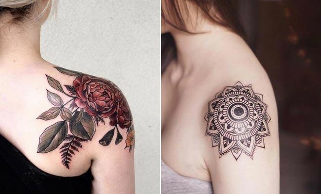 tatuagem no ombro 2021