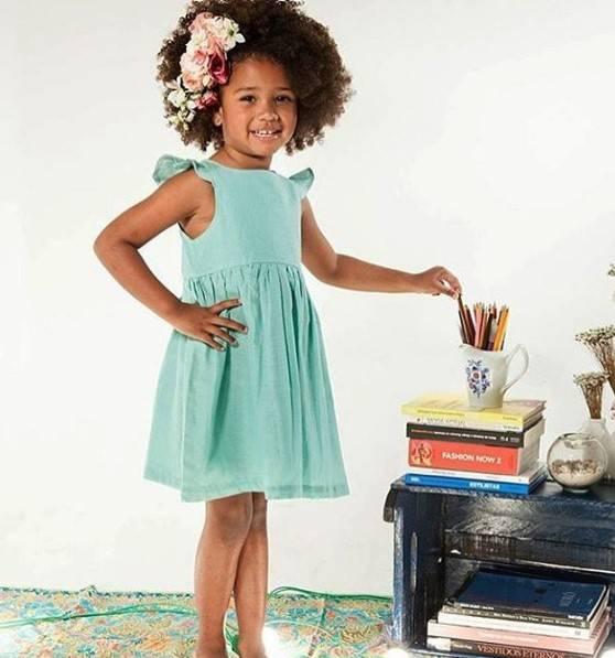 tendências vestido infantil 2021