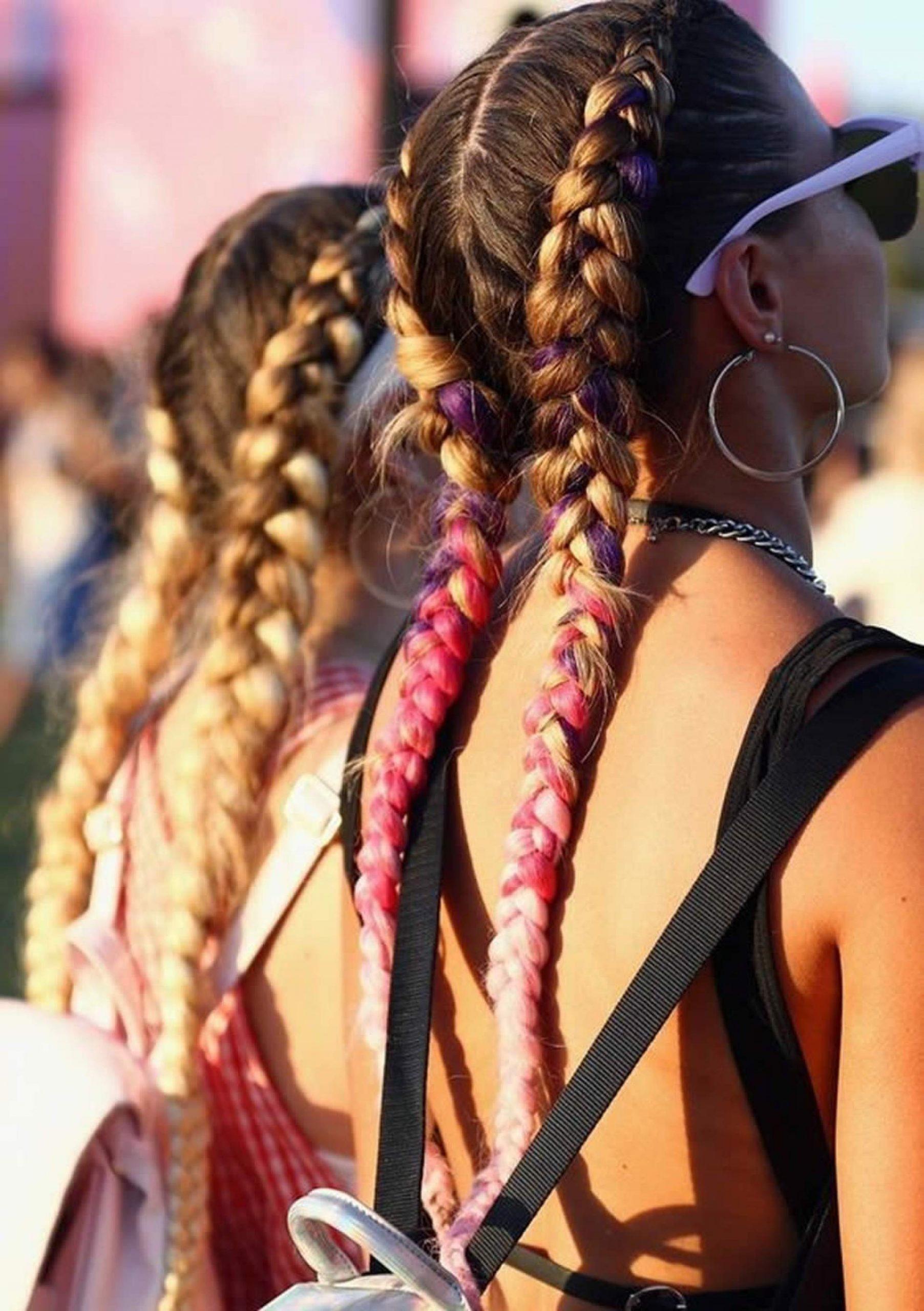 trança boxeadora como penteado para carnaval