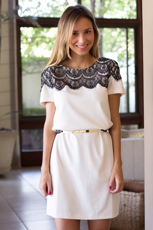 vestido branco de batizado para madrinha