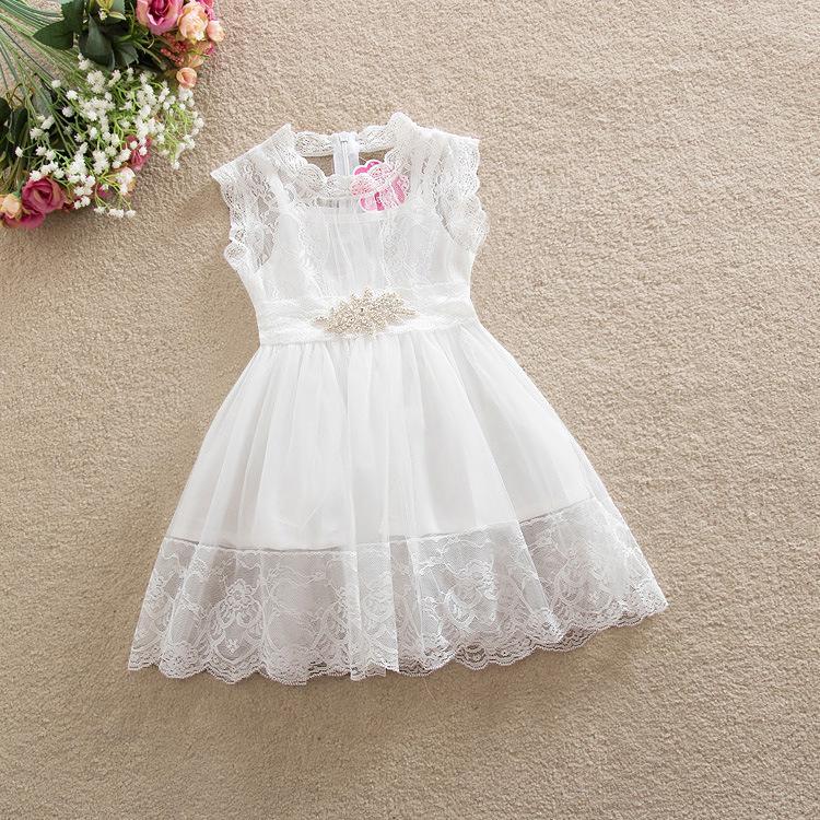 vestido branco de batizado