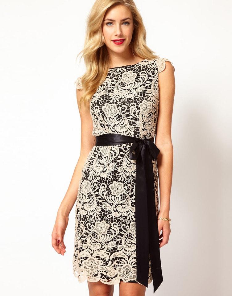 vestido tubinho renda 2021