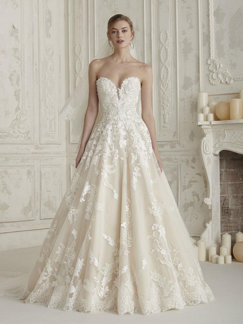 vestidos de noiva decote coração