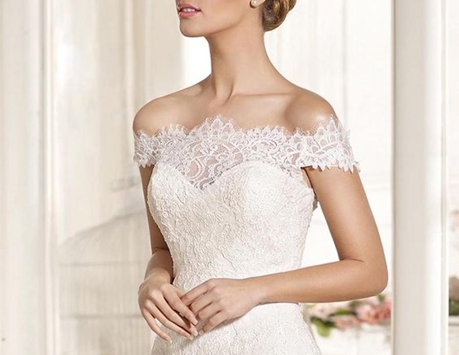 vestidos de noiva decote ombro a ombro
