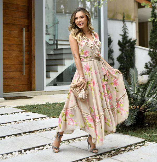 vestidos florais 2021