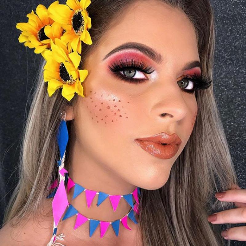 maquiagem de festa junina 2021