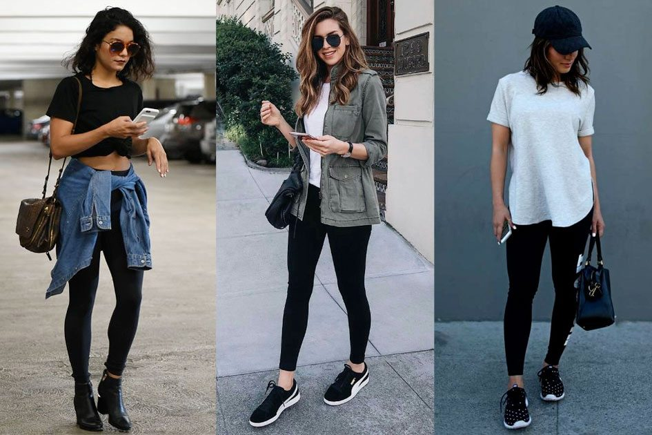 looks com legging