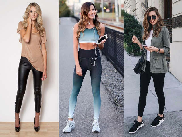 looks com uso de legging