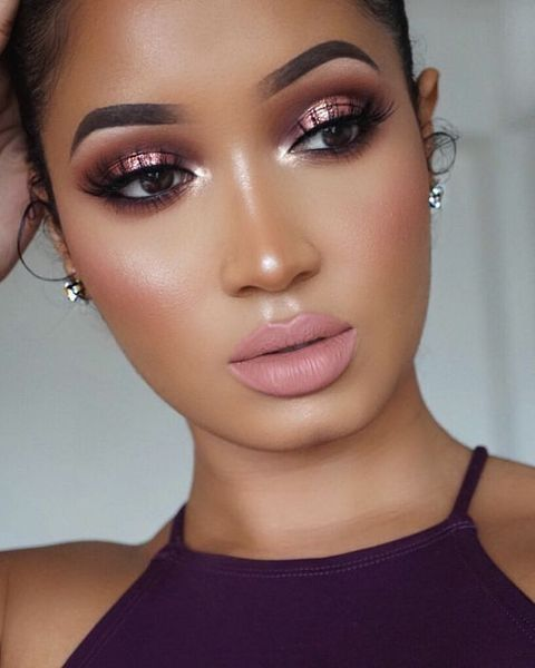 blush para pele negra