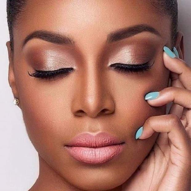 como fazer maquiagem para pele negra