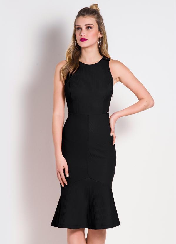 vestido midi sereia 2021