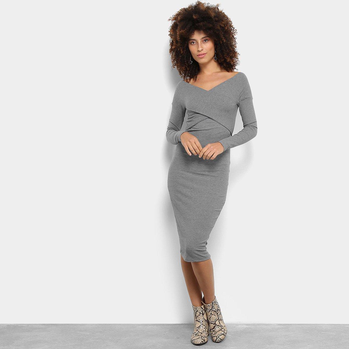 vestido midi tubinho 2021