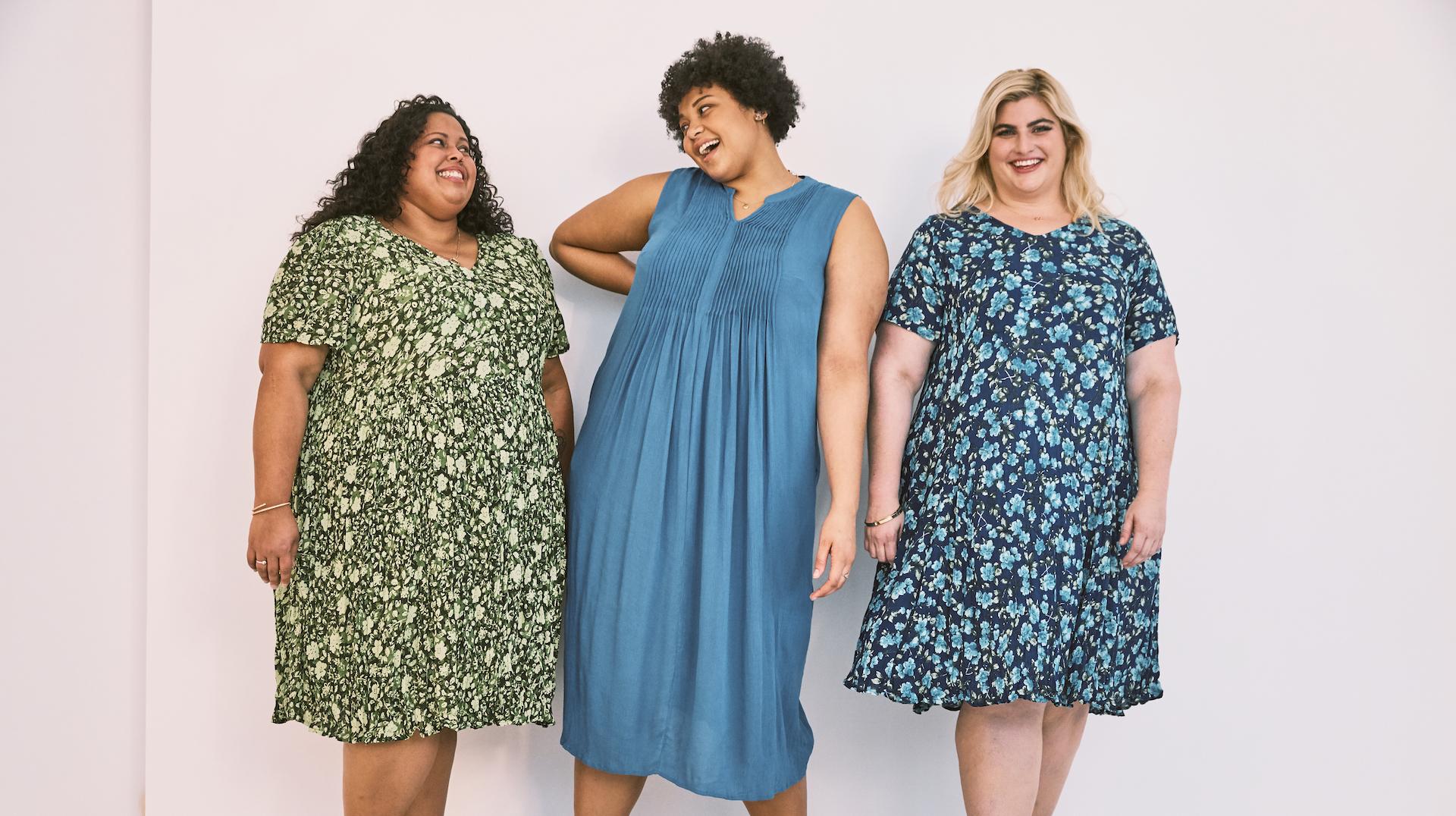 vestidos moda plus size