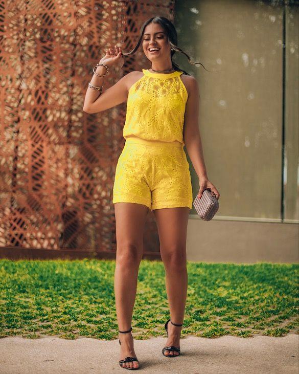 conjuntinho amarelo