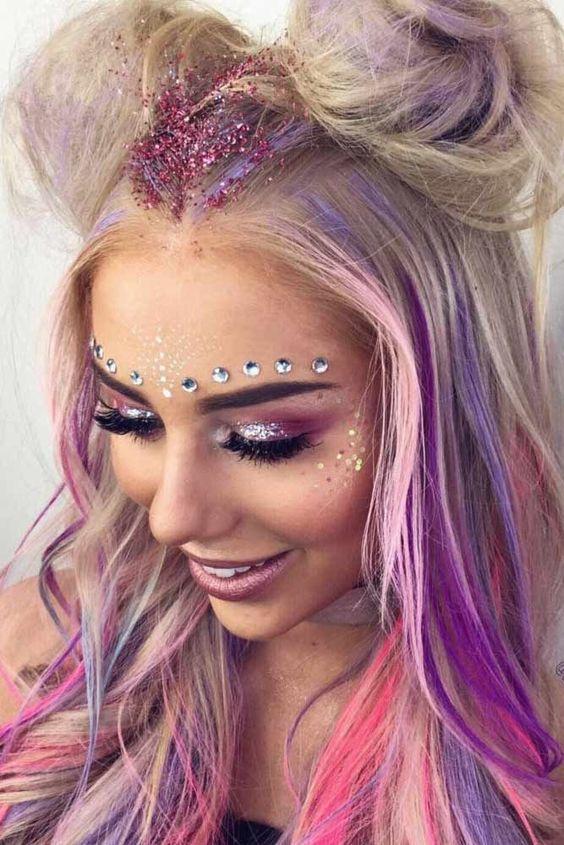 pedraria para maquiagem de carnaval