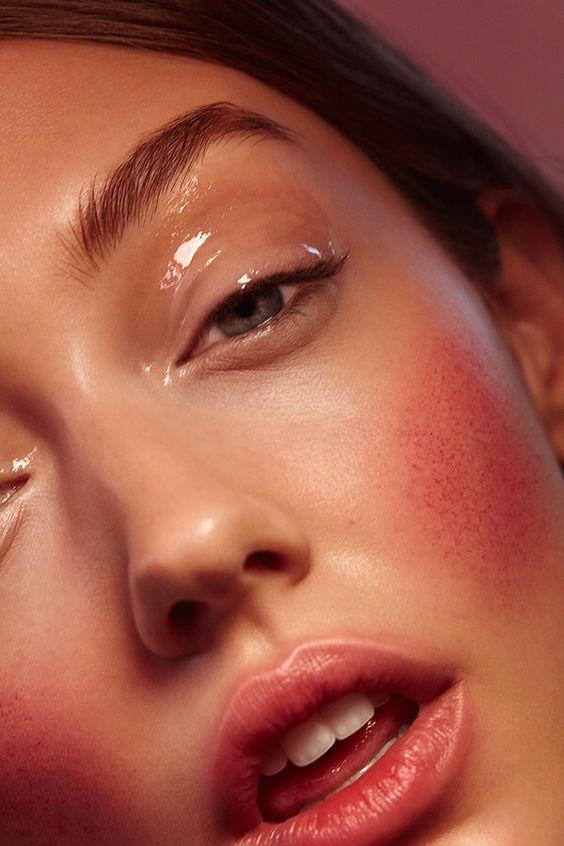 maquiagem gloss para primavera