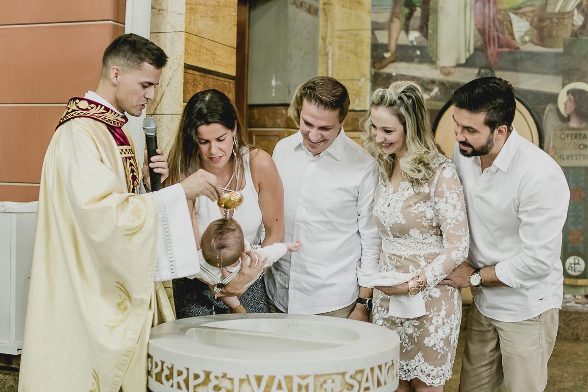 batizado de criança