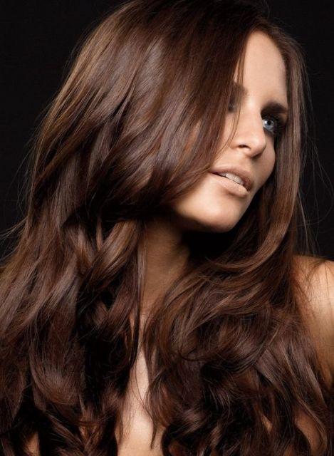 cabelo chocolate longo