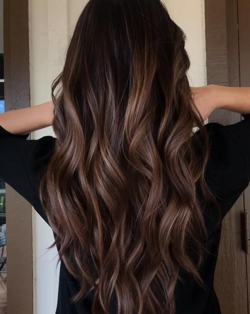 cabelo chocolate