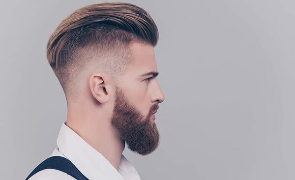 Corte degradê para cabelo médio e longo
