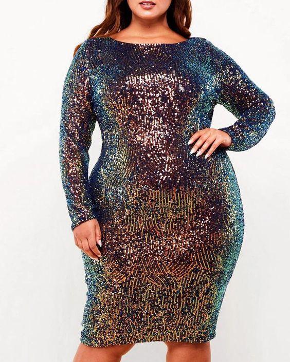 Looks com glitter para vestidos 2021