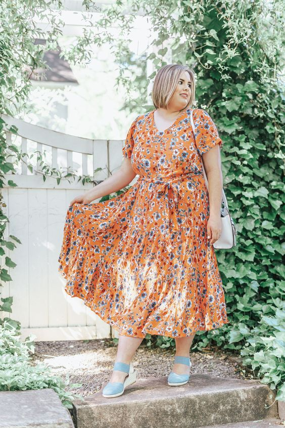 Roupa floral